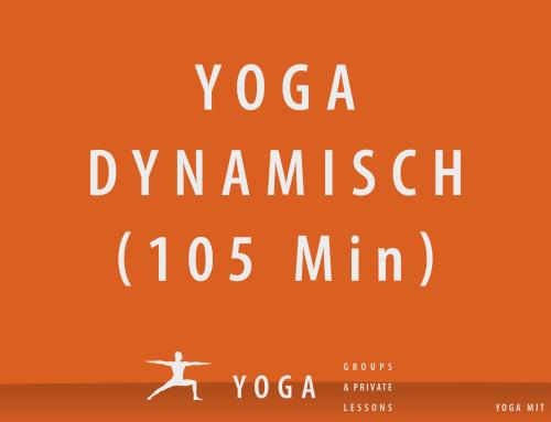 Yoga dynamisch – 105 Minuten